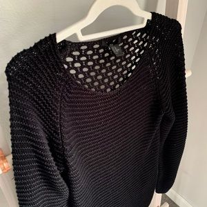 H&M Sweaters - H&M Long Black Knit Sweater